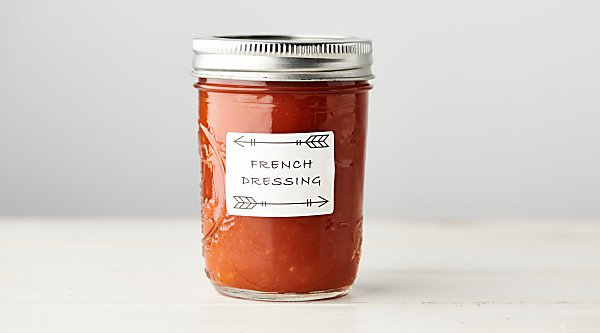 Healthy Homemade French Dressing